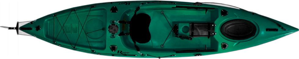 Каяк рыболовный одноместный Escape 12 Angler