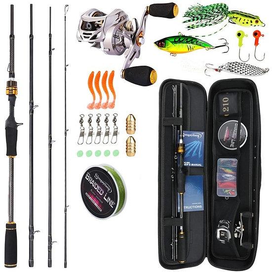 Рыболовный набор спиннингиста с мультипликаторной катушкой