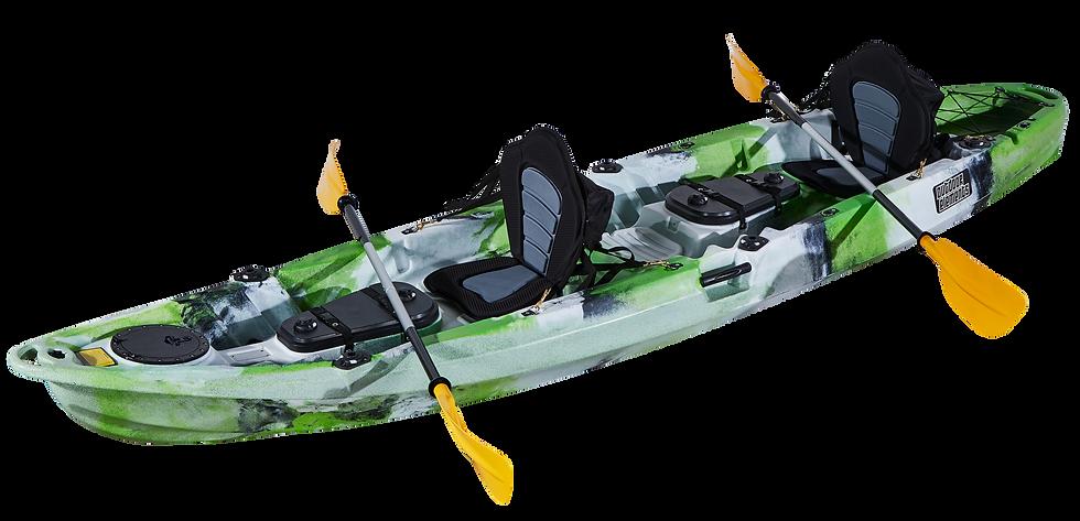 Каяк трехместный 2+1 FishermanLife (Reviera)