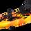 Thumbnail: Каяк для рыбалки одноместный с педальным узлом FishermanLife (Pedal Craft 10)