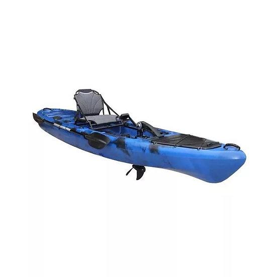 Каяк для рыбалки одноместный с педальным узлом KRAKEN KL-35P