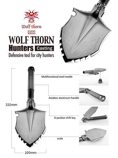 Лопата для активного отдыха многофункциональная Wolf C