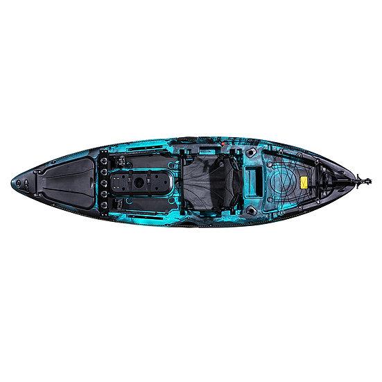 Каяк для рыбалки охоты одноместный FishermanLife (Quest Pro Angler 10)