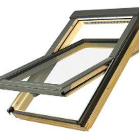 Мансардное окно FTP-V U4 серия PROFI с двухкамерным стеклопакетом