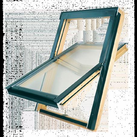 Мансардное окно FTS-V U4 с двухкамерным стеклопакетом