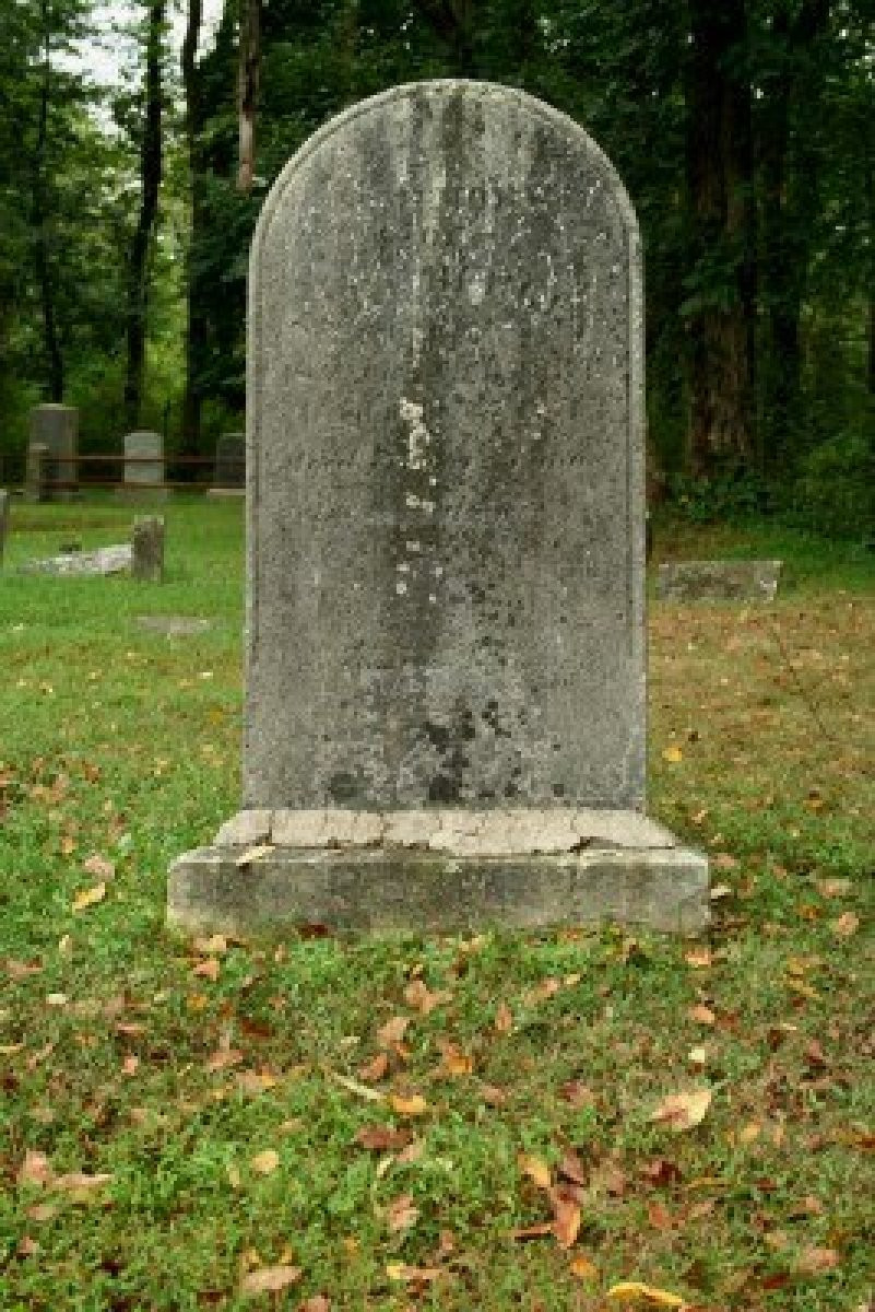 Stock photo of a gravestone