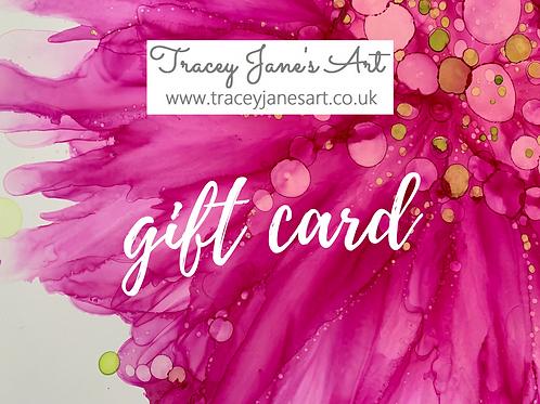 Gift Card for A3 framed artwork