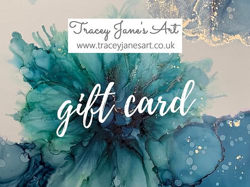 Gift Card for A4 framed artwork