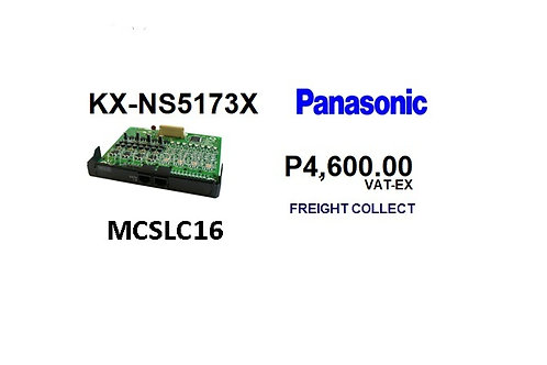 PBX PANASONIC EXPANSION MCSLC16