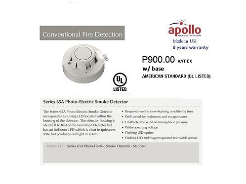 APOLLO CONVENTIONAL SMOKE DETECTOR  UL   Model# 55000-327