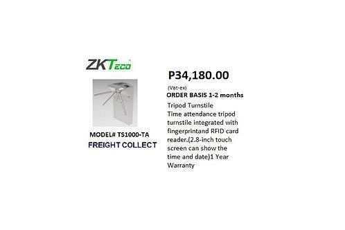 ZKTECO TRIPOD TURNSTILE MODEL#TS1000-TA