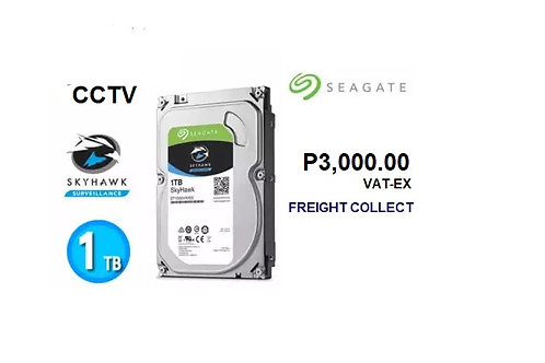 CCTV 1 TB HDD SEAGATE