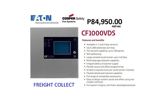 COOPER  2-LOOP ADDRESSABLE EUROPEAN STANDARD MODEL# CF1000VDS