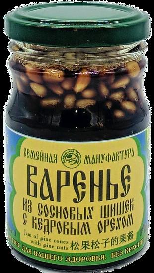 Варенье из сосновых шишек с кедровым орехом
