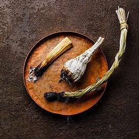 Smoking organic herbal Incense Palo sant