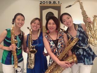 2019.8.1.イベント演奏@ホテルグランヴィア京都