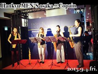 2015.9.2. 阪急メンズ大阪イベント