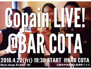 2016.4.22. BAR COTA LIVE!!