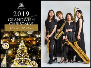 2019.11.7.クリスマスツリー点灯式@グランフロント大阪