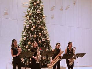 2018.12.24.クリスマスロビーコンサート@大阪マリオット都ホテル