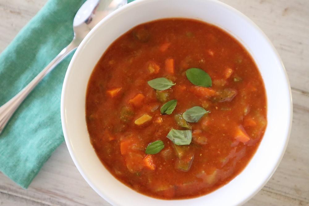 Easy Vegan Mulligatawny Soup