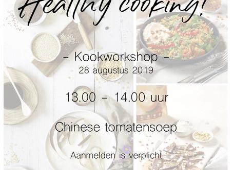 Healthy cooking workshops!