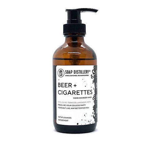 Beer & Cigarettes Hand and Body Wash