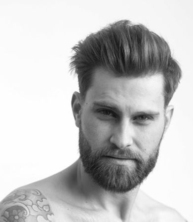 men's haircut, men's hair, men's razor haircut, pompadour, men's medium haircut, men's modern haircut, best men's haircut