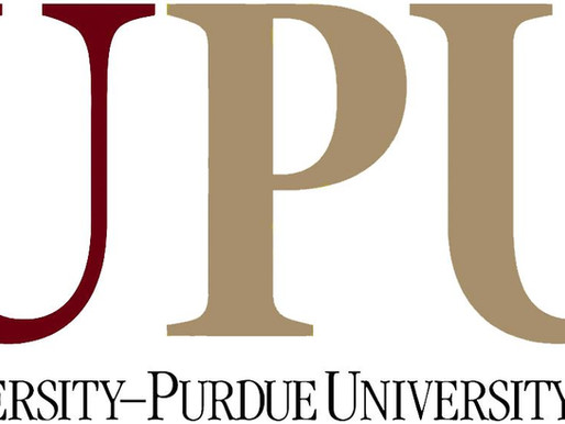 Dr McMurray presents research at IUPUI