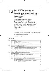 Sex Differences in Feeding Regulated by Estrogen: Crosstalk between CNS Dopaminergic Reward Circuitry and Adiposity Signals