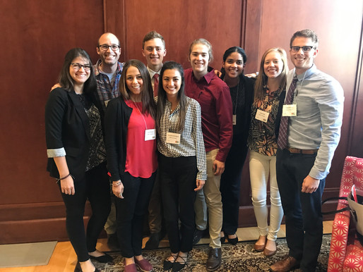 McMurray Lab undergrads present at mGluRs conference