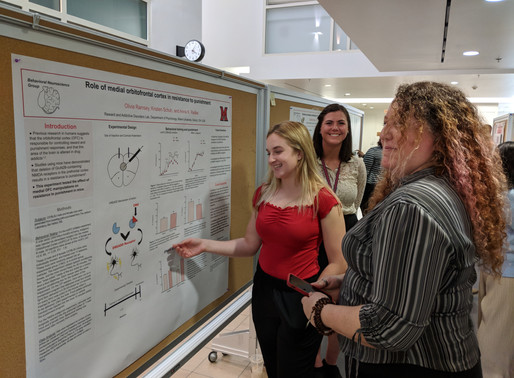 McMurray Lab members present at annual CMSB Symposia