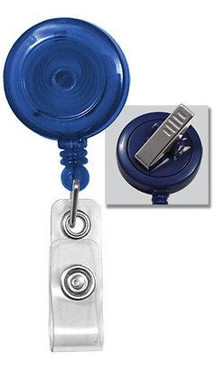 Round Plastic Swivel Back Badge Design