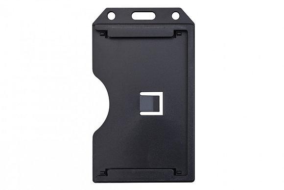 2-Sided Open-Face Rigid Three-Card Holder