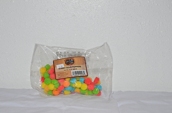 Gummy Sour Poppers