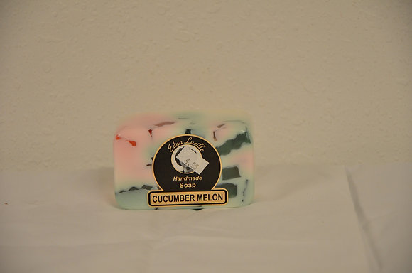 Cucumber Melon Handmade Soap