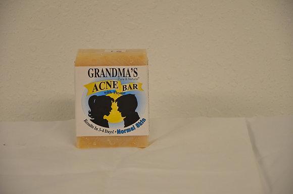 Grandma's Acne Bar (Normal Skin)