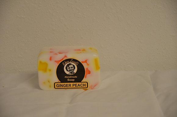 Ginger Peach Handmade Soap