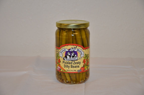 Pickled Zesty Dilly Beans