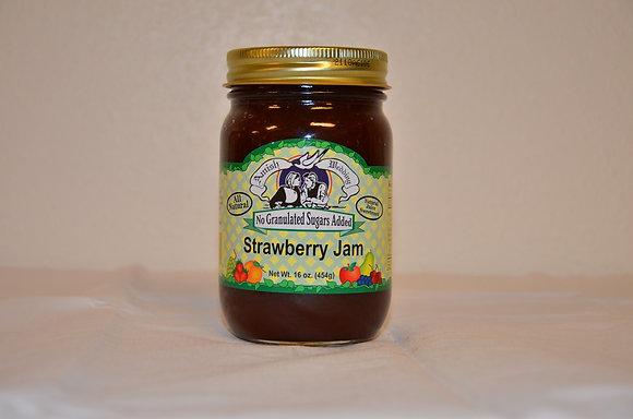 Strawberry Jam ( No Sugar Added)