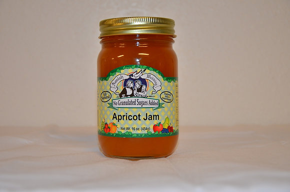 Apricot Jam (No Sugar Added)