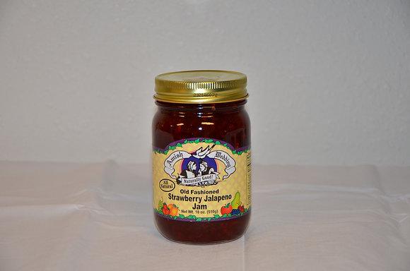 Old Fashioned Strawberry Jalapeno Jam