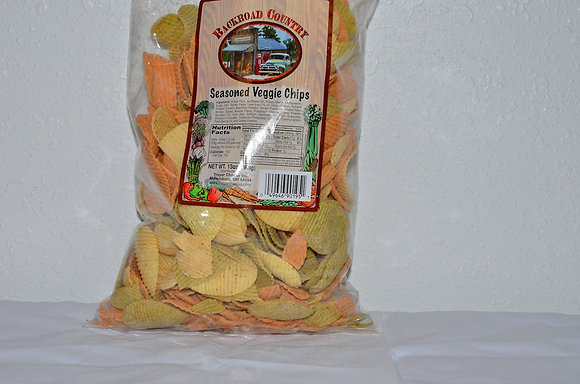 Seasoned Veggie Chips