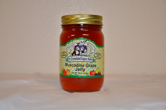 Muscadine Grape Jelly (No Sugar Added)