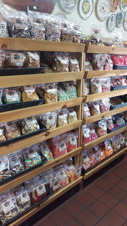 Snack Mixes and Candy