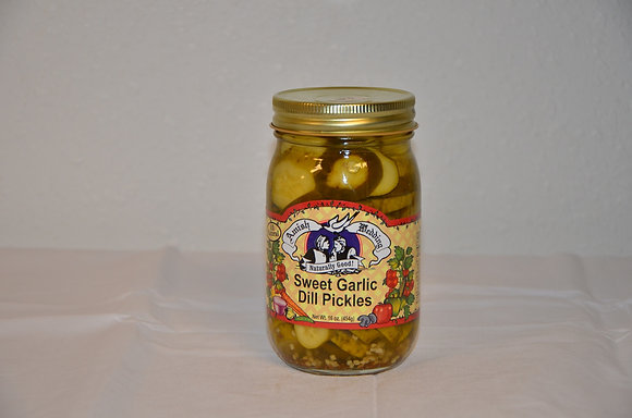 Sweet Garlic Dill Pickles