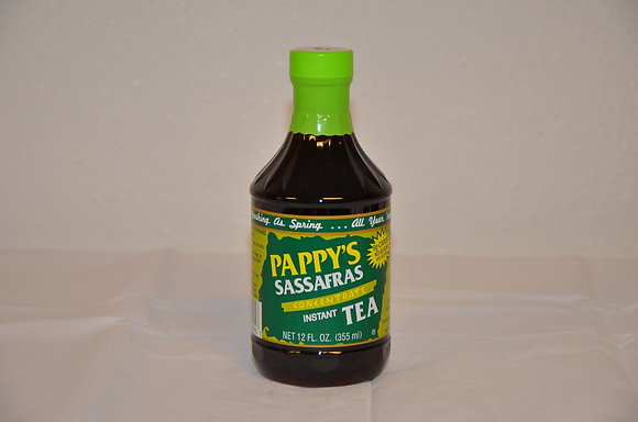 Pappy's Sassafras Concentrate Instant Tea