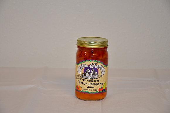 Old Fashioned Jalapeno Peach Jam