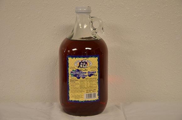 Muscadine Grape Cider