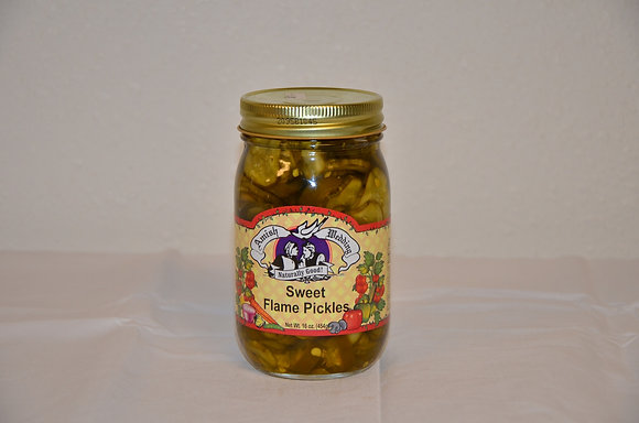 Sweet Flame Pickles